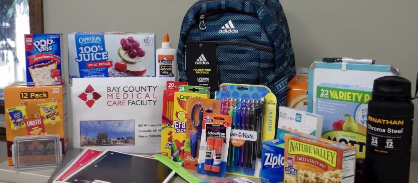 levy county back to school back pack giveaways